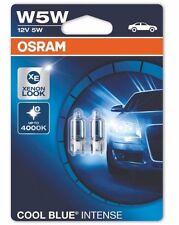 2x OSRAM W5W Cool Blue Intense 2825HCBI 4000K 5W 12V OSRAM 2825 auto car Germany