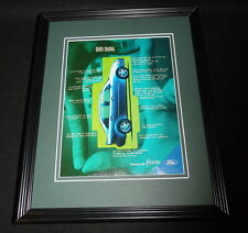2000 Ford Focus Framed 11x14 ORIGINAL Vintage Advertisement
