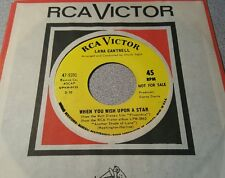 Lana Cantrell ~ On The Good Ship Lollipop / When You Wish Upon  ~ Promo ~ (M-)