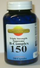 Vitamin B - 150 Complex Supreme Triple Strength 200 Capsules
