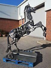 Horse Rearing Life Size Model Metal Art Productions Sculpture
