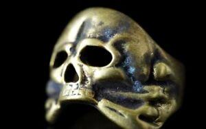 Totenkopfring Husaren Ring Schädel Memento Mori
