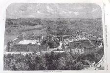 Ephemera - large print of Windsor Castle - 1863