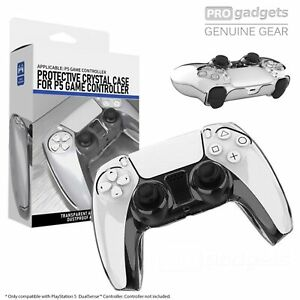 Protective DustProof Clear Hard Cover Case for PS5 PlayStation 5 Controller