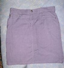 3bcdb02bc Women's Gap Limited Edition Purple Corduroy Stretch Mini Skirt Size 4