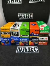 10x 110mm film lot fuji agfa Konica Panagor pocket lomography expired film