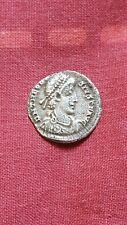 More details for theodosius i/eugenius ar siliqua of milan rev roma ric ix 32a very rare&lovely