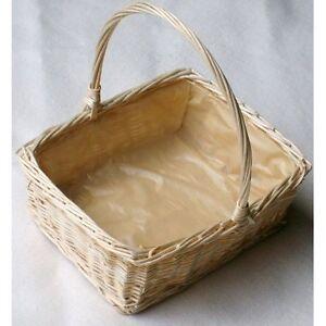 Wicker Rectangular Display/Floral Basket. X Large