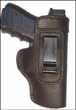 FN FNP FNX FNS 9 40 Leather Gun Holster LT RH IWB Black