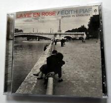 EDITH PIAF CD La Vie En Rose 2002 SONY label CHANSON French POP VOCAL KZcd89