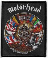 Official Licensed Merch Woven Sew-on PATCH Heavy Metal Rock MOTORHEAD 1916