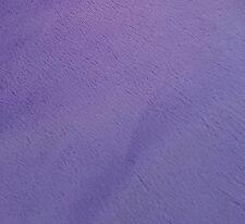 Plain dyed purple / lavender Plush Nutex Minkie FQ 50cm x72cm