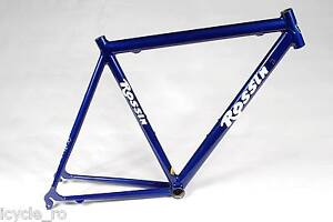Vintage Rossin Synthesis Road Bicycle Frame 55 cm Columbus Altec Classic NOS