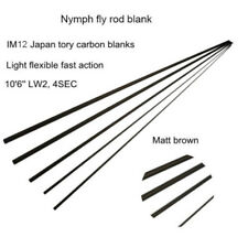 Aventik Nymph Casting Fly Rod Blank 10'6'' LW2, Two Tip Sections Fast Action 65g