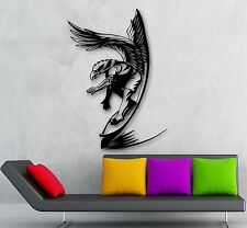 Wall Stickers Vinyl Decal Surfing Water Extreme Sports (ig1755)
