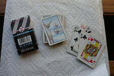 Old Vintage Deck Playing Cards Souvenir Cape Shore Yarmouth Maine Pelican Boat
