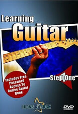 Learn Guitar DVD for beginners NEW! Tuning, Chords Scales, Strumming Patterns