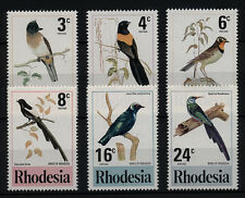(W0027) RHODESIA U/M (MNH) BIRDS, CAT. HIGH