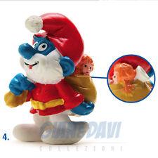 PUFFO PUFFI SMURF SMURFS SCHTROUMPF 2.0124 20124 Santa Puffo Babbo Natale 4A