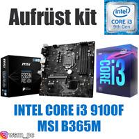 PC Bundle Kit Set 💙 Intel Core i3 9100F ✔ MSI B365 Mainboard ✔