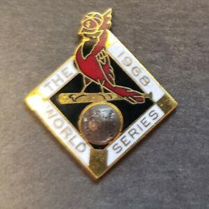 1968 St. Louis Cardinals World Series Press Pin Mint
