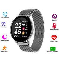 Smart Watch Heart Rate Bracelet Blood Pressure Blood Oxygen Fitness Tracker IP67