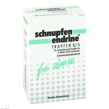 SCHNUPFEN ENDRINE 0,1% Nasentropfen 10ml PZN 03925069