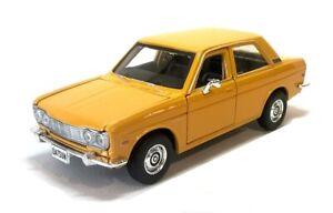 1971 DATSUN 510 in Mustard - 1:24 Scale Die-Cast Classic Car Model by Maisto