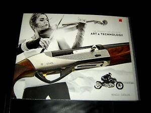 Benelli Arms 2014 Brochure Catalog  Rifles Pistol Hunting NEW 88 Pages guns