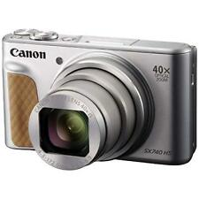 Canon Compact Digital Camera PowerShot SX740 HS Silver 20.3MP EMS w/Tracking NEW