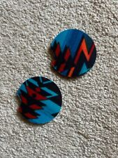New listing Pair Aztec Design Neoprene Car Coffee Cup Coasters New