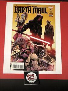 Star Wars Darth Maul #3 1st Cad Bane Cover Appearance HTF NM