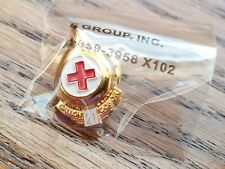 RED CROSS 21 GALLON BLOOD DONOR PIN, New - Still Sealed
