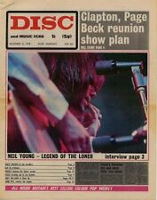Neil Young + Burnin' Red Ivanhoe UK Interview 1970