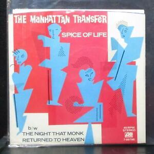 "Manhattan Transfer - Spice Of Life 7"" Mint- Promo Atlantic 7-89786 USA 1983"