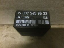 MERCEDES W124 300D, Multivalve, IDLE SPEED CONTROL RELAY P/N 0075459632