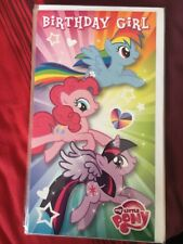Clintons My Little Pony Birthday Card Free P&P