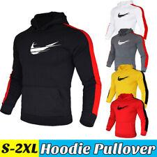 Casual Men Jogger Pullover Hoddie Long Sleeve Sweatshirt Sportswear Sweater Coat