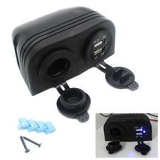 12V KFZ USB Ladegerät Adapter Auto Zigarettenanzünder Steckdose CS287