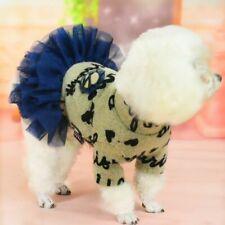 Cute Dog Tutu Dress Lace Dress For Pet Puppy Dogs Cat Costumes Wedding Apparel