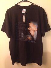 NOS Vintage ALANIS MORISSETTE L Shirt Supposed Former Infatuation Junkie 1998