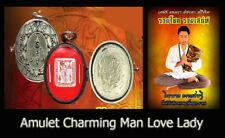 Thai Amulet Charming Lokket Red (Man Love Lady) Love Sex & Lucky By Achan Ram