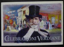 MAXI CARD S. MARINO BOPHILEX - GIUSEPPE VERDI - 2001