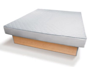Wasserbett Bezug Wasserbett Auflage  Matratzen-Bezug Rundumbezug Antiallergisch