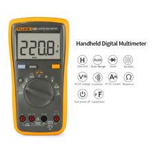 Fluke F15b Lcd Digital Multimeter True Rms Meter Amp Ohm Voltmeter Diode Tester