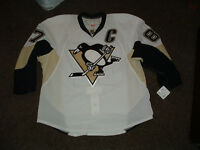 SIDNEY CROSBY #87 PITTSBURGH PENGUINS AUTHENTIC PRO AWAY HOCKEY JERSEY sz 58 NWT