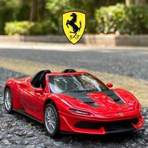1:32 Ferrari J50 Car Collectibles Model Alloy Metal Car Die Cast Children's Toy