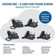 5 User Business VoIP Phone System - HOSTED PBX - NBN READY