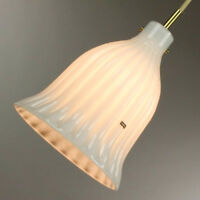 Hollywood Regency Pendant Leuchte Doria Glas  Lampe Neuw. 60er 70er Jahre