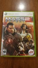 Mass Effect 2 (Microsoft Xbox 360, 2010) MINT 2-DISC SET W/MANUAL MAIL TOMORROW!